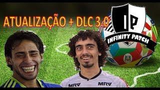 ATUALIZAÇÃO ALPHA INFINITY PATCH + DLC 3.0 PES 2018 - XBOX 360 - BRASILEIRÃO A e B + BUNDESLIGA