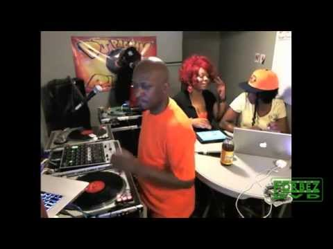 "DJ Dice (Redman DJ) + DJ Pacman Goes In On M.Reck ""Push Back"" Live In The Cave"