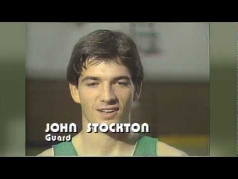 The Utah Jazz select John Stockton in 1984 NBA Draft