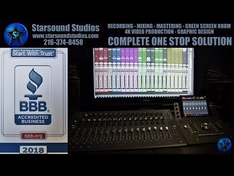 BEST RECORDING STUDIO VIDEO WALKTHROUGH TOUR STARSOUND STUDIOS RECORDING STUDIO CLEVELAND OHIO ⭐✅