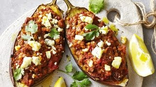 Aubergine Stuffed With Spicy Lamb | Easy Cook With Chef Atul Kochhar