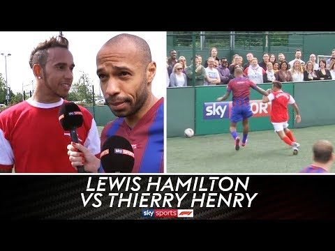 Lewis Hamilton vs Thierry Henry & Jamie Carragher | 5-A-Side