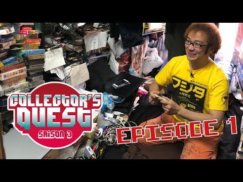 Collector's Quest Saison 3 au Japon (Ep.1) Chez Fujita (Collectionneur Famicom)