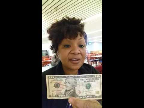 Fake $10 bill