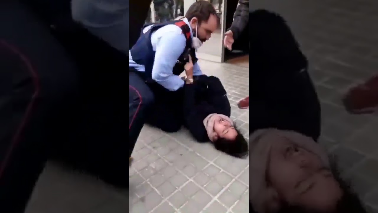 Spainish Woman Tasered Into Attending Covid Test Appointment
