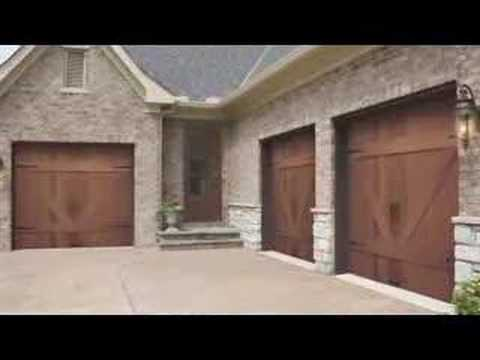 Garage door styles youtube for Garage door styles