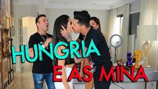 HUNGRIA BEIJOU UMA MINA NO VIDEO| #HottelMazzafera
