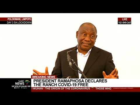 President Ramaphosa addresses South Africans repatriated from Wuhan