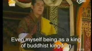 BHUTAN:ADDRESS TO THE NATION BY HIS MAJESTY JIGME K.N.W 2/2
