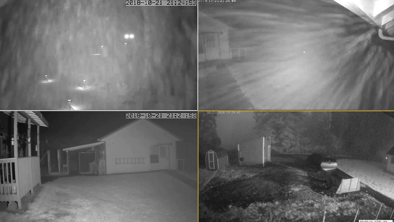 condensation brouillard camera surveillance vision nocturne