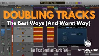 Doubling Tracks - The Best Ways (And Worst Way) To Add That Doubled Track Feel