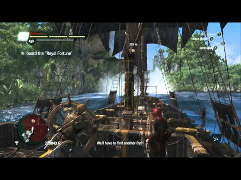 Assassin's Creed 4 Black Flag - Gameplay Walkthrough Part 41: Royal Misfortune