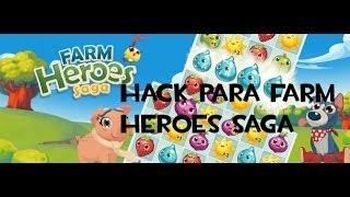 tutorial como tener vidas en farm heroes saga truco 2014