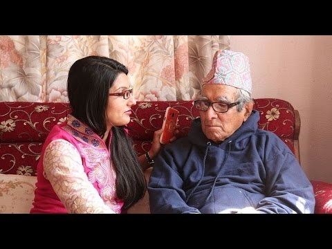 Interview with National Poet Madhav Prasad Ghimire | Daily Exclusive News ( Media Np TV)