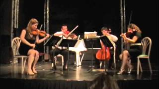 Brahms String Quartet in A minor, 2.