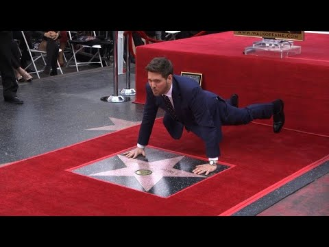 Michael Bublé gets star on Hollywood Walk of Fame Mp3