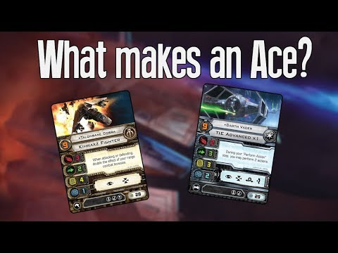WHAT MAKES AN ACE? - An X-wing Miniatures Game Discussion