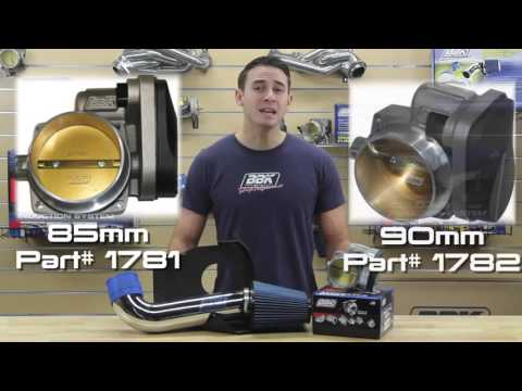 BBK Performance: Power Plus Throttle Body and Cold Air Intake Kit