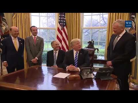 Remarks: Donald Trump Meets with Tom Rutledge, Charter Communication CEO - March 24, 2017