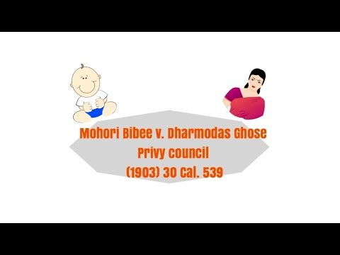 Minor's contract u/ Indian Contract Act and mohoribibee case 👶🏻