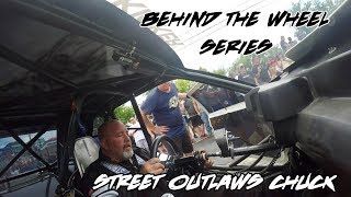 BEHIND THE WHEEL SERIES: STREET OUTLAWS CHUCK IN THE DEATH TRAP TURBO MUSTANG!