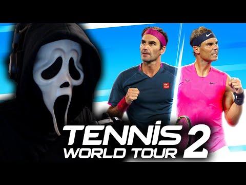 Ghostface Plays Tennis World Tour 2 |
