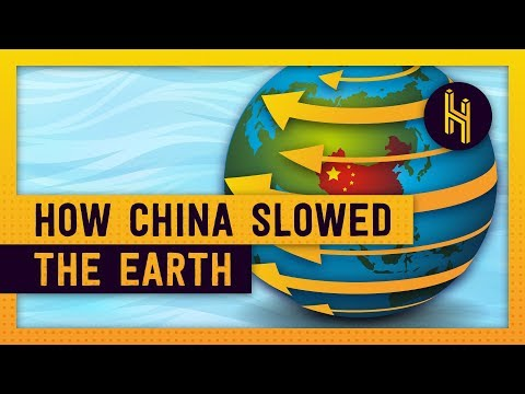How A Massive Dam in China Slowed the Earth's Rotation