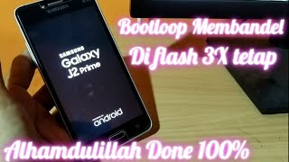 How to Fix the Samsung Galaxy J1 Ace Logo.