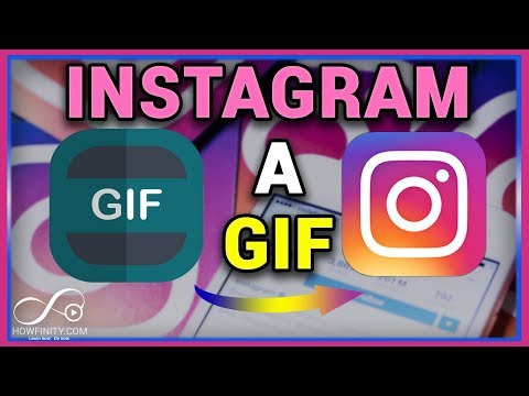 How to post a GIF to instagram -Instagram a GIF