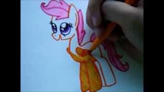 Как Нарисовать Пони Скуталу ♥(Привет! Меня зовут Малика, мне 10 лет:) Я на этом канале рисую пони) Это канал Анель https://www.youtube.com/user/AnelCutePaint..., 2013-10-20T14:12:25.000Z)