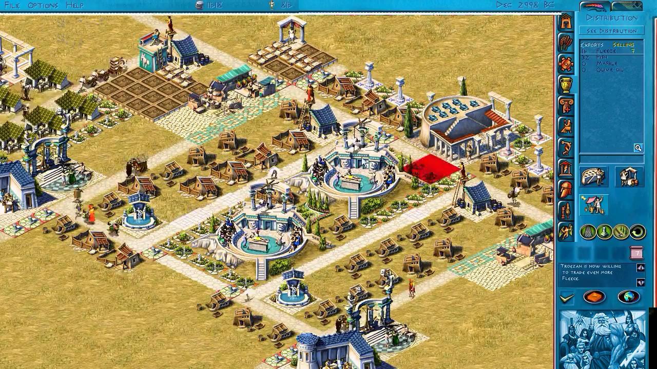 Zeus & Poseidon [HD] - มาเล่นเกมสร้างเมืองกันเถอะ!! ! EP1 P1 - YouTube