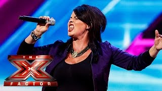 Michelle Lawson sings  And I Am Telling You | Arena Auditions Wk 2 | The X Factor UK 2014