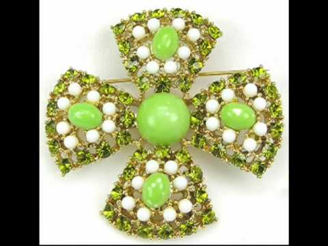 Weiss Vintage Costume Jewelry