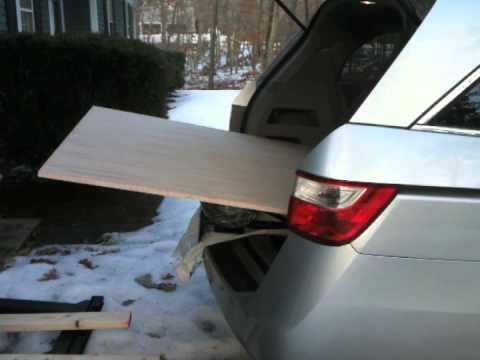 Plywood Into Car Youtube