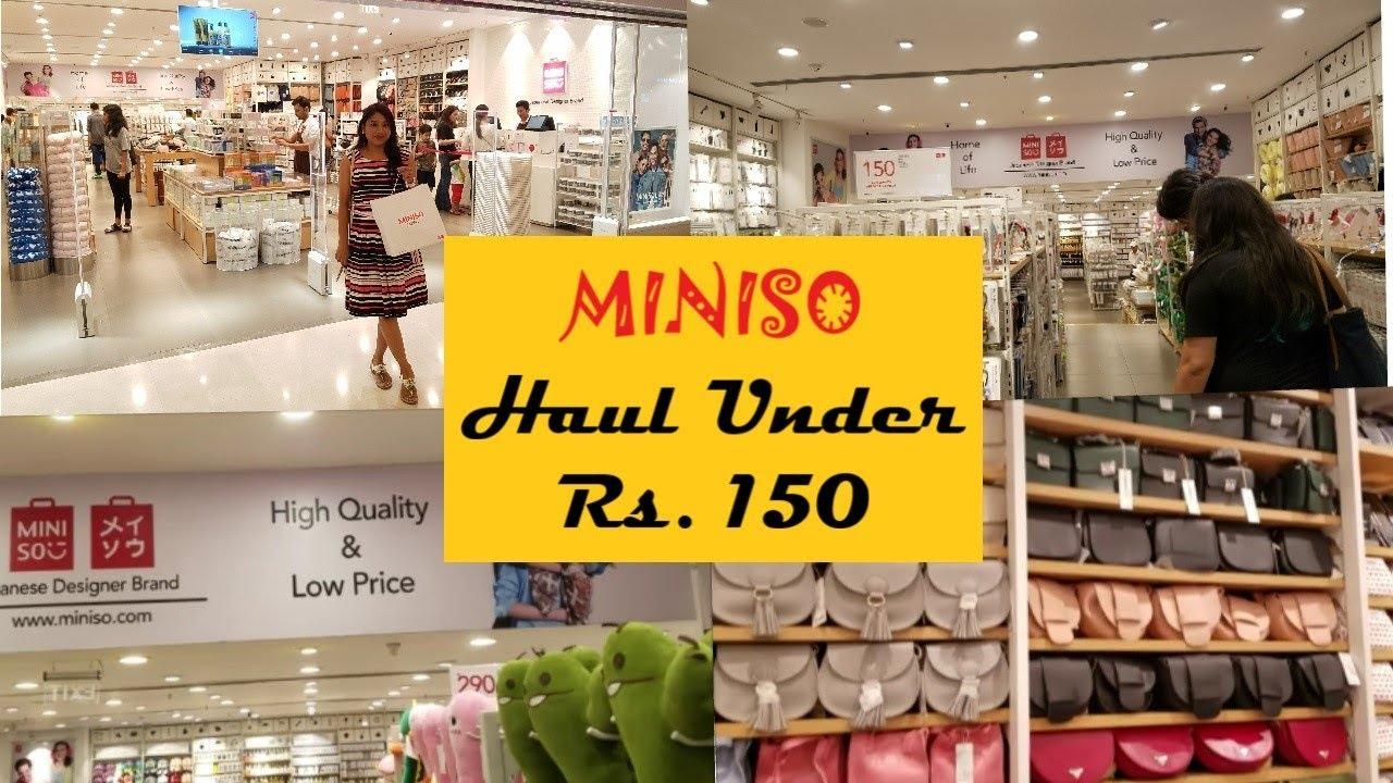 16a16ad40d4 Miniso Store Tour Delhi
