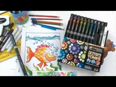 Chameleon變色龍神奇漸層麥克筆試用分享 @ 牧莎手藝 PD&C Arts & Crafts :: 痞客邦