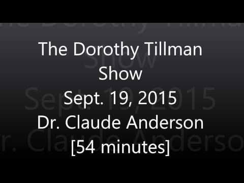 Dr. Claude Anderson on WVON with Dorothy Tillman [Sept. 19, 2015] - 54 minutes