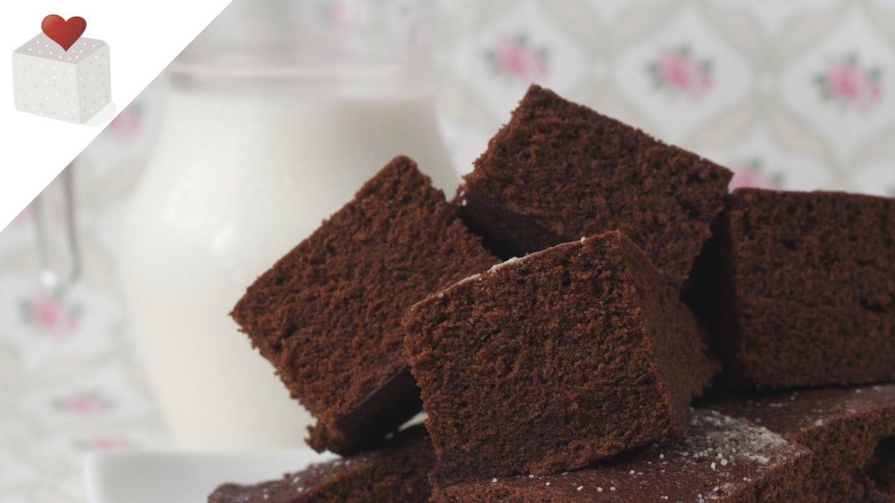 Bizcocho de chocolate cocinado en microondas recetas de - Bizcocho con microondas ...