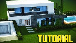 minecraft casa moderna pequena tutorial