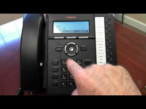 how to change the time on a nortel phone