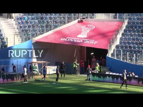 Russia: Krestovsky Stadium gears up for FIFA Confederations Cup opening ceremony