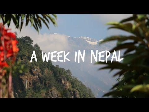 A Week in Nepal