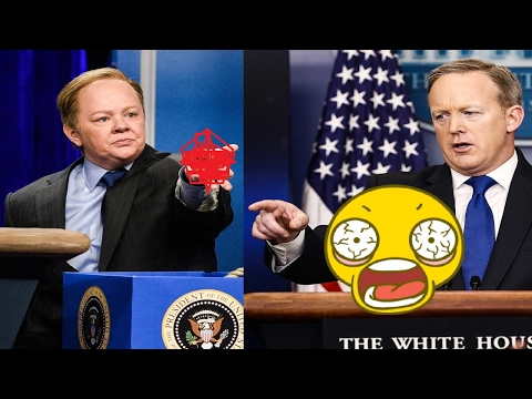 Snl Melissa Mccarthy Sean Spicer Press Conference Cold Open