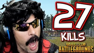 DrDisRespect's 27-KiII Duo Game with Shroud on Battlegrounds!