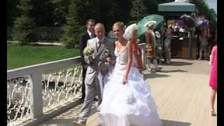 Свадьба в Петродворце 2010.