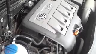 Звук дизельного двигателя VW CC 2.0 TDi