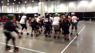 Roller Derby Training: Derby Hugs Drill