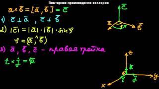 §12 Векторное произведение векторов