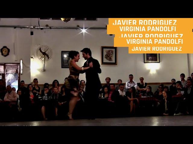 Milonga, Javier Rodriguez, Virginia Pandolfi Tango milonga La Baldosa tango Buenos Aires
