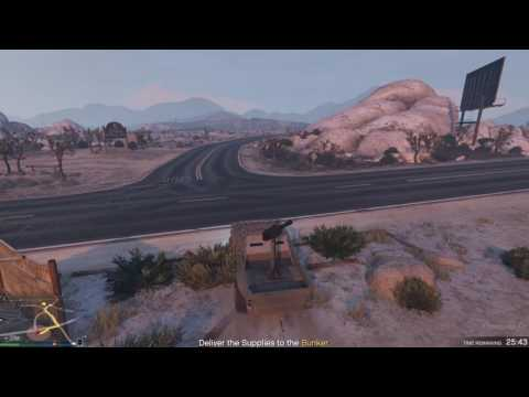 GTA Online: Gunrunning Supply Run - Technical - Redwood Lights Track